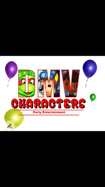 DMV Characters Party & Entertainment - Costumed Character - Richmond, VA