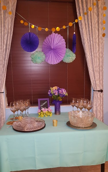 Bridal Shower Sangria Bar