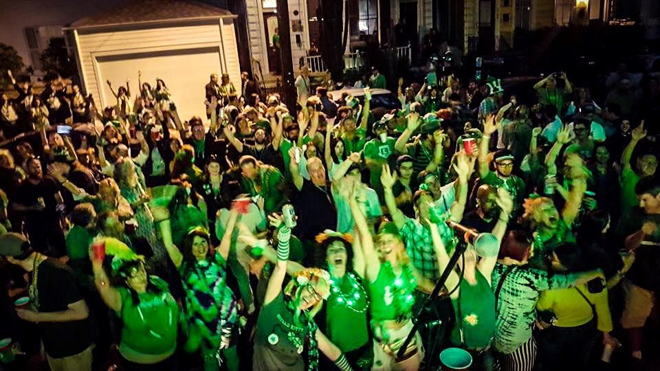 St Patricks Day Bash 2017