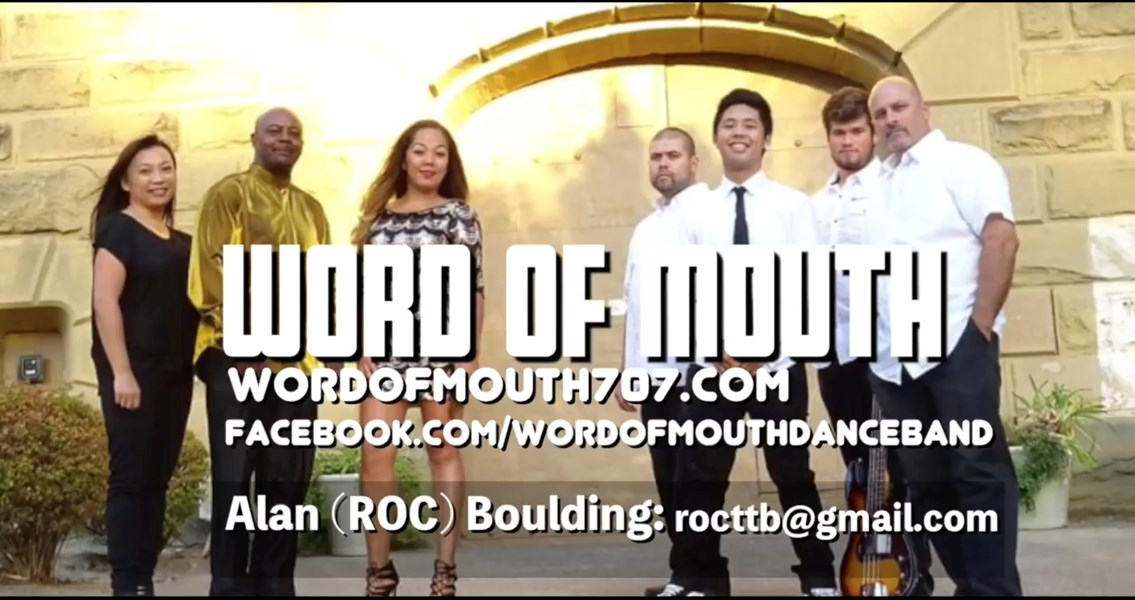 Word of Mouth Band - Cover Band - Vallejo, CA