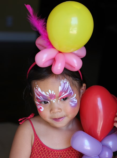 Silly Faces On Parade - Face Painter - Irvine, CA