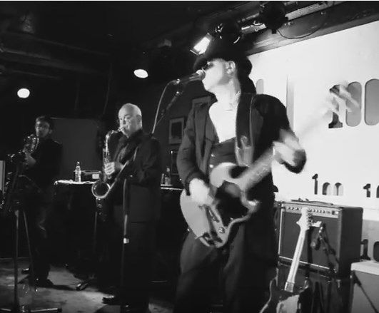 Headlining at the 100 Club, London