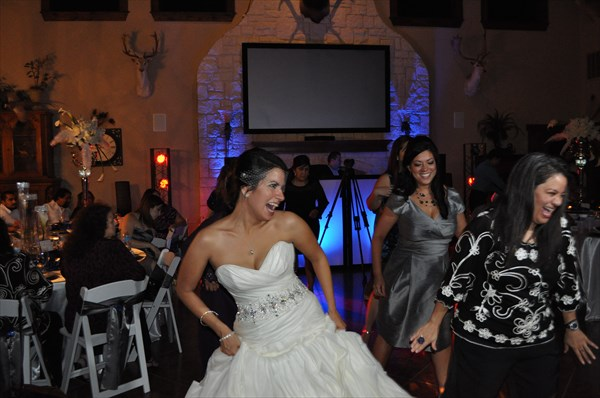 Brides always have a great time..