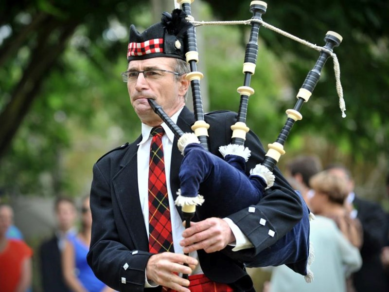 Highland Bagpipes - Bagpiper - Florence, OR