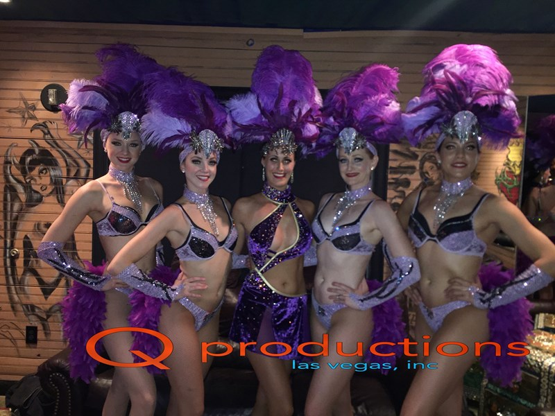 Purple Showgirls and SInger