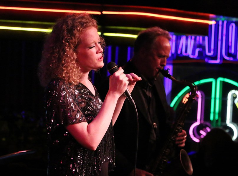 at Birdland with guest Ted Nash