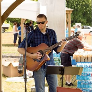 Old Saybrook Acoustic Guitarist | Dustin Bradley