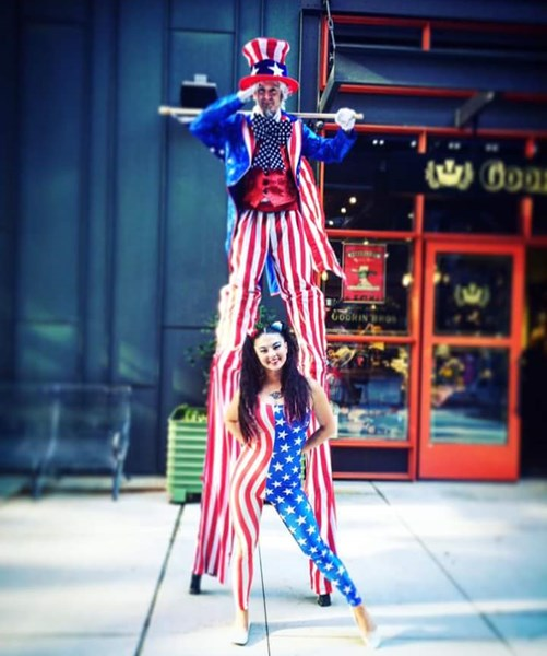 Greg Morgan Bivens - Stilt Walker - Atlanta, GA