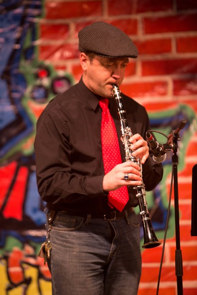 Performing jazz clarinet