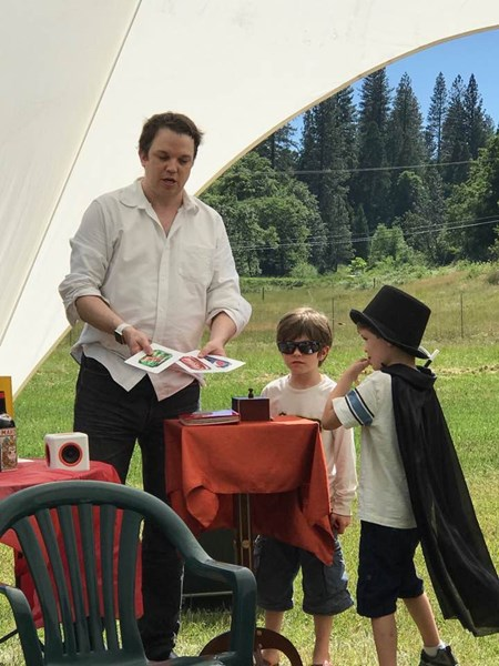Magic show in Grass Valley, CA