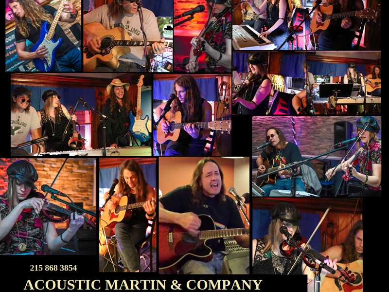 Acoustic Martin Trio - Cover Band - Philadelphia, PA