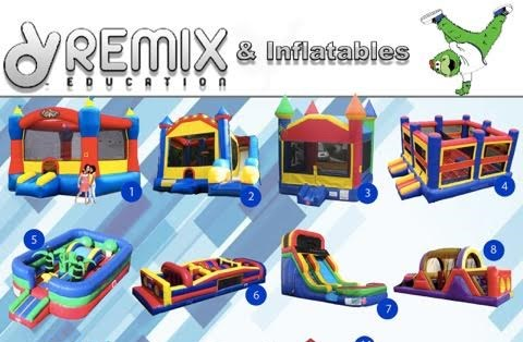 Remix Education and Inflatables - Party Inflatables - Lexington, KY