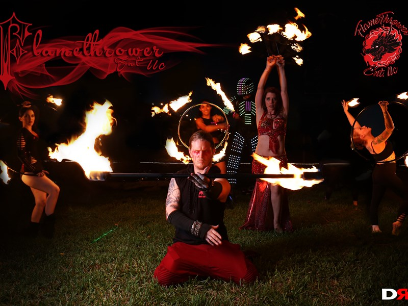 Flame Thrower ENT Events - Fire Dancer - Port Saint Lucie, FL