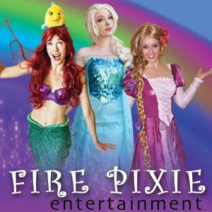 Calgary Costumed Character | Fire Pixie Princess Parties
