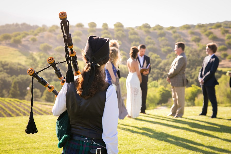 Wedding at Opolo Winery