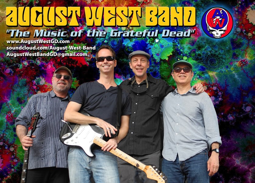 August West - Grateful Dead Tribute Band - New York City, NY