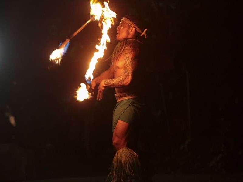 Chief Tui - Fire Dancer - Honolulu, HI