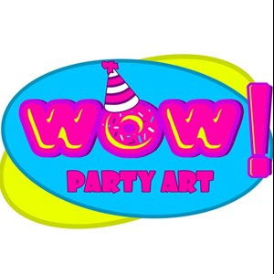 Shreveport Princess Party | WOW Party Art