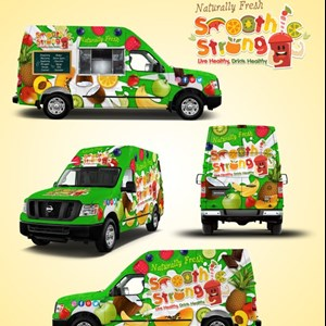 Houston, TX Food Truck | Smoothie Strong
