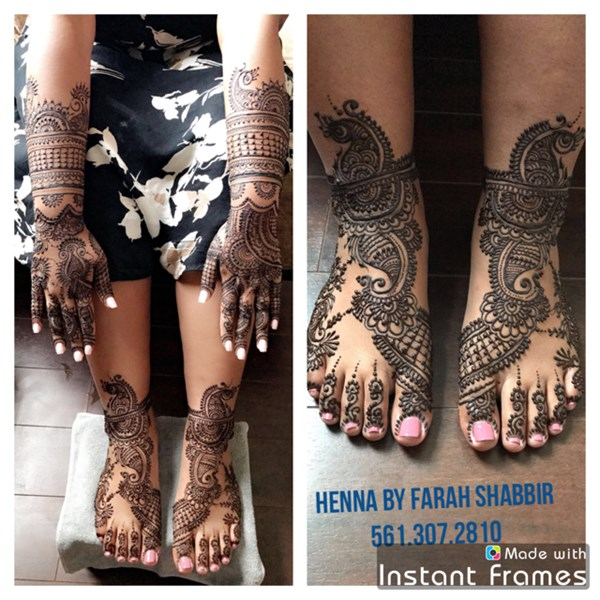 Henna by farah shabbir - Henna Artist - Lake Worth, FL