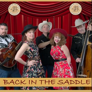 Rebecca 30s Band | Back In The Saddle Band