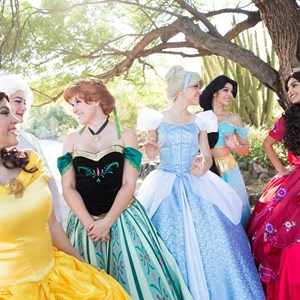 Glendale Princess Party | Fair Maidens & Masks