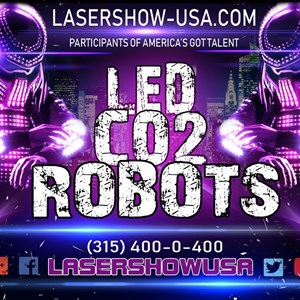New York City, NY Party Robot | LED ROBOTS CO2