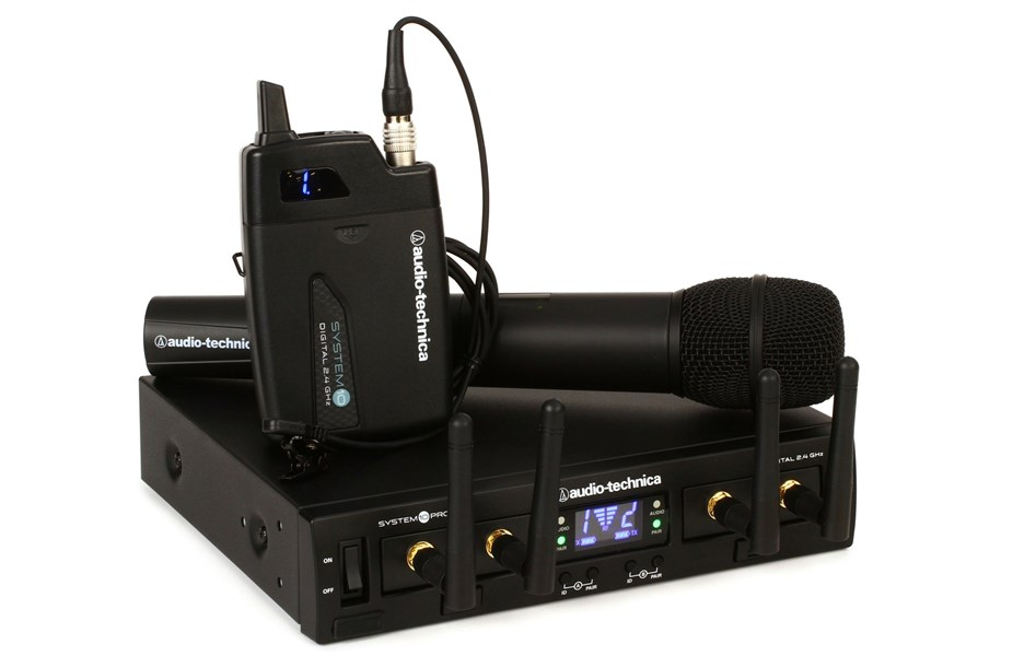 wireless handheld/lav mic available