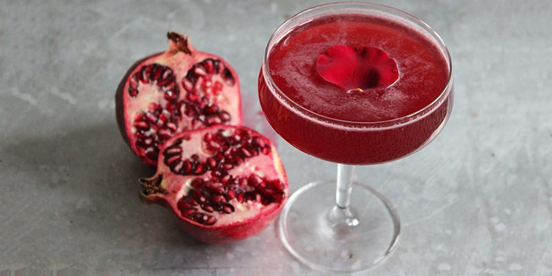 "Knife & Spoon's ""Pomegranate Rose"""