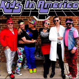 Lenoir 90s Band | Kids in America - The Totally 80s Tribute Band