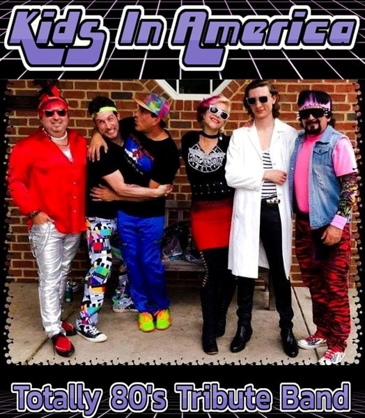 Kids in America - The Totally 80s Tribute Band - Cover Band - Charlotte, NC