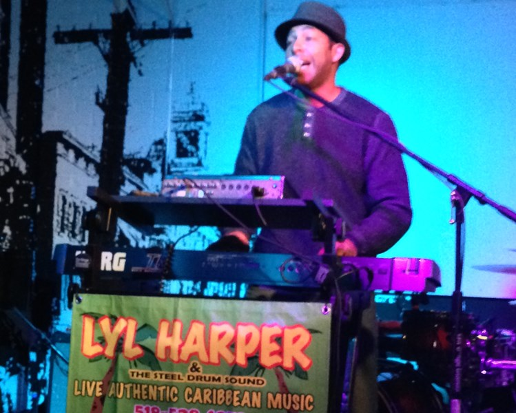 Lyl Harper with the Steel Drum Sound - Steel Drummer - Washington, DC