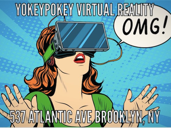 YokeyPokey Virtual Reality - Video Game Party - Brooklyn, NY