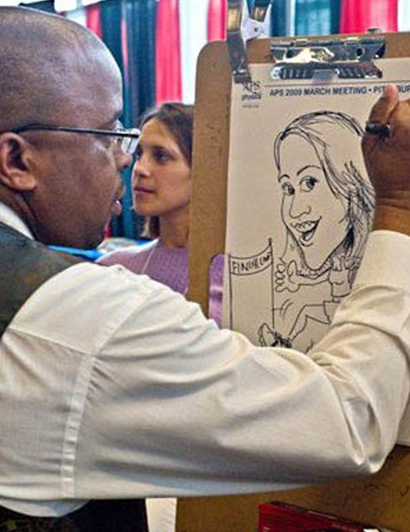 01 Caricatures by Kerry: Conference