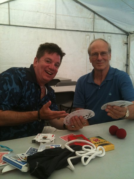 Teaching Magic to William Hurt!