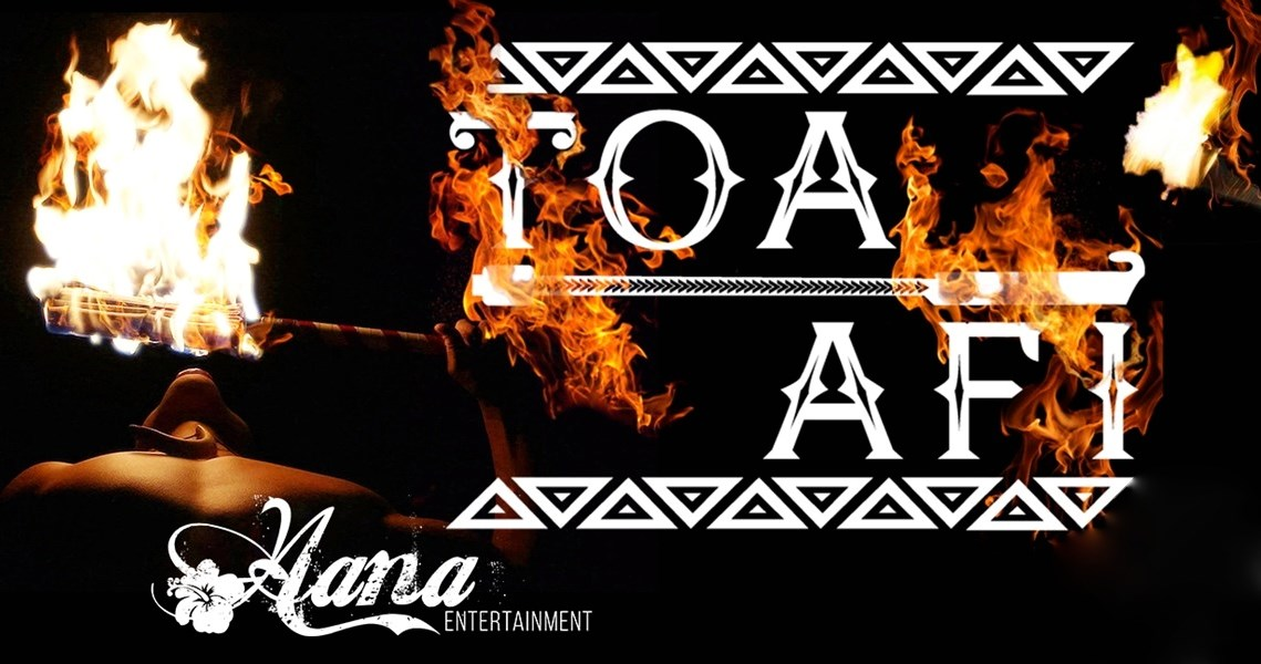 Hana Entertainment & Toa Afi  - Fire Dancer - Ogden, UT