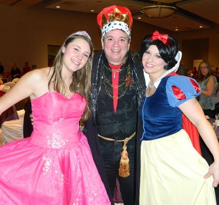 MC for CWF annual Princess Party
