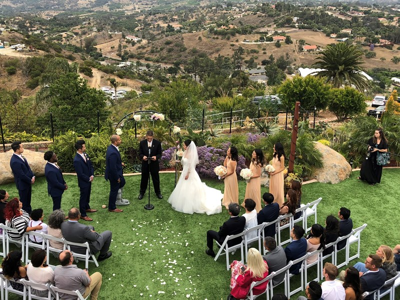 Wedding/DragonPoint Villa/Fallbrook
