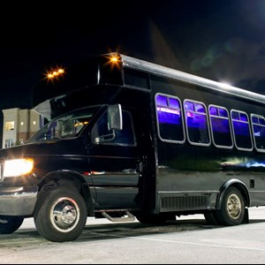 Triangle Funeral Limo | Rise Rides Party Bus