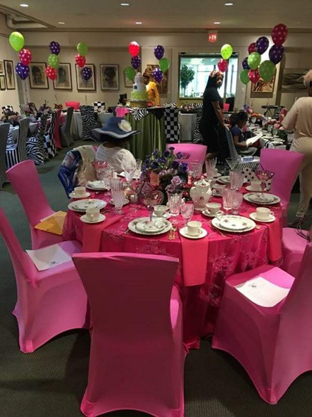 Mad Hatter Bridal Tea Party