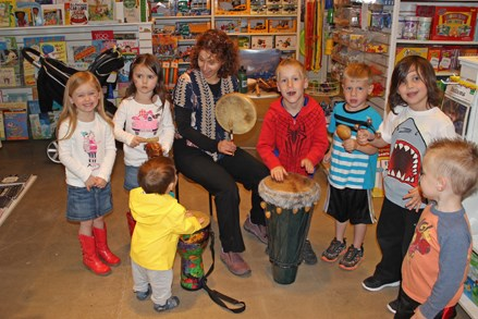 Drumming with Preschoolers!
