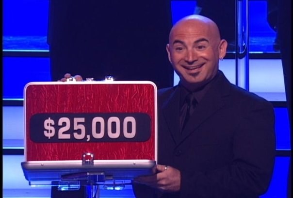 "Me as a ""Deal or No Deal"" TV model!"