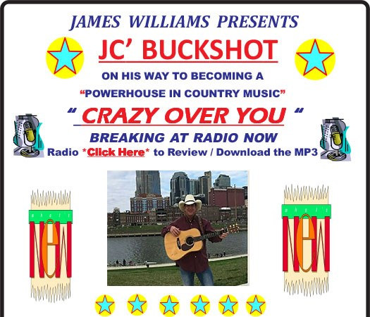 JC Buckshot ~ Real Country Music - Country Band - Nashville, TN