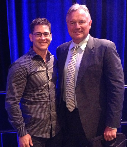 with NFL HOF K Morten Andersen