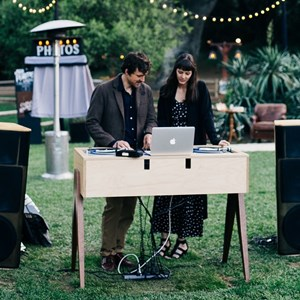 LA Underground DJ via Weddings By Sabrina