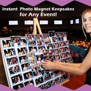 Antimony Green Screen Rental | On The Spot Photo Magnets