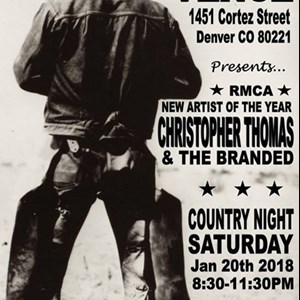 Wibaux Country Band | Christopher Thomas & The Branded-Country Band
