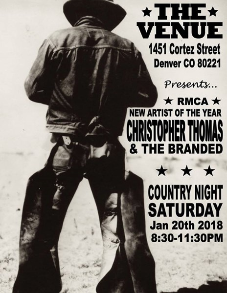 Christopher Thomas & The Branded-Country Band - Country Band - Denver, CO