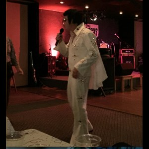 Anacortes Elvis Impersonator | ELVIS By Dano @ a Li'l Johnny Cash !!!