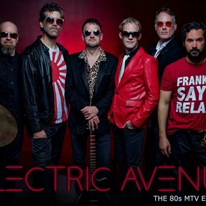 Towns 80s Band | Electric Avenue - The 80s MTV Experience